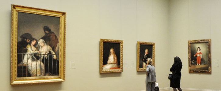 Where is the Largest European Art Collection?